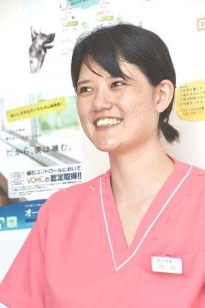 看護士 内田 美結理